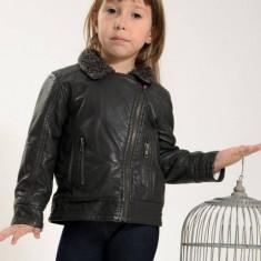 Geaca copii imitatie piele Losan 326 2013 (Culoare: gri, Imbracaminte pentru varsta: 3 ani - 98 cm)