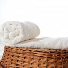 Prosop baie - Prosop pufos cu colt ivoire (Culoare: ivoire)