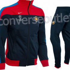Trening barbati - Trening NIKE FCSB - Model Steaua - Bluza si Pantaloni Conici - Pret Special -