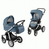 Carucior multifunctional 2 in 1 Lupo Comfort Steal Baby Design