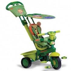 Tricicleta copii - Tricicleta 3 in 1 Royal Verde Fisher Price