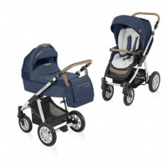 Carucior copii 2 in 1 - Carucior 2 in 1 Dotty Denim Navy Baby Design