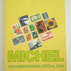 CATALOG FILATELIC - MICHEL - MAREA BRITANIE 2004