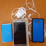 Telefon mobil Samsung Galaxy Alpha, Argintiu, Neblocat, Octa core - Vand Samsung Galaxy Alpha Silver liber de retea (neverlocked)