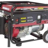 Generator curent - Weima Generator WM-7000, 6.5 kW, benzina, pornire manuala