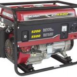 Generator curent - Weima Generator WM-5500E, 5.2 kW, benzina, pornire electrica, cu roti