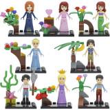 Set minifigurine tip LEGO Disney Princess Ariel Merida Rapunzel Cinderella - Jocuri Seturi constructie