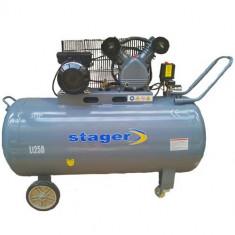 Compresor electric - Stager HM-V-0.25/250L - Compresor aer 220V/50Hz 3HP 250L 8bar