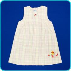 DE FIRMA _ Rochie de vara cu Winnie, bumbac, H&M Disney _ fetite | 4-5 ani | 110, Culoare: Multicolor