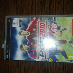 2x Jocuri Sony PSP Originale PES 2010 Pro+ ModNation Racers+cutii si manuale! - Jocuri PSP Sony, Sporturi