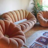 Set canapea 3 locuri + 2 fotolii
