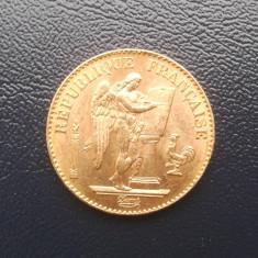 E.005 - FRANTA - 20 FRANCS 1897 - MONEDA AUR, Europa, An: 1897