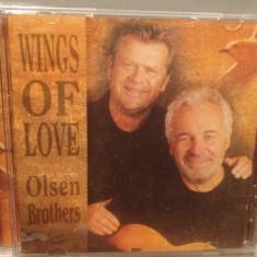 OLSEN BROTHERS - WINGS OF LOVE (200/ EMI /UK) - CD NOU/SIGILAT/ORIGINAL/POP - Muzica Dance emi records