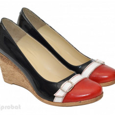 Pantofi dama eleganti - casual din piele naturala cod P37 - Made in Romania, Marime: 36, 38, 39, 40, 35, Culoare: Din imagine