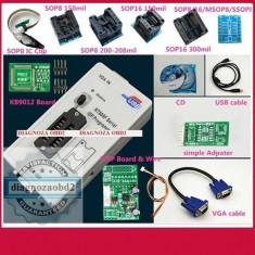 Programator memorii auto ECU RT809F LCD ISP + adaptoare + SOP8 - Interfata diagnoza auto