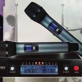 Set 2 microfoane wireles WVNGR WG-2009 trasnsport Gratis in toata tara - Microfon PC, Wireless