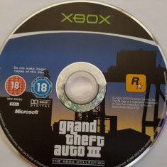 Joc xbox Jocuri Xbox Rockstar Games originale GTA III, Actiune, 16+, Single player