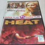 FILM DVD SUPER FILME 2 IN 1 SHERRY BABY/MOSCOW HEAT,SUBTITRARE ROMANA,ORIGINAL