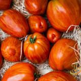 Seminte rosii - Rosii soiul Tigerella - 5 seminte pentru semanat