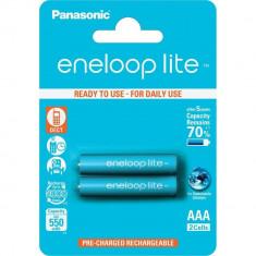 Baterie Aparat foto - 2x AA R6 Baterii Reincarcabile Panasonic Eneloop Lite NK036