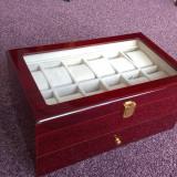Cutie din lemn de cires pentru 22 ceasuri