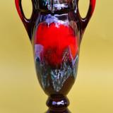 FRUMOASA VAZA DIN CERAMICA CU DOUA ANSE, MODEL AMFORA L2 - Arta Ceramica