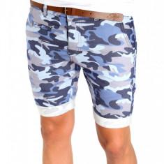 Bermude barbati - Pantaloni scurti CAMUFLAJ tip ZARA + CUREA MARO CADOU - SUMMER EDITION - 6381