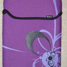 Husa tableta, culoare mov, din neopren, marca Volve, 28x21cm, tip plic