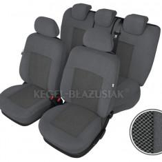 Set huse scaune auto Poseidon culoare Gri pentru Vw Golf 4 Fata + Spate - Husa Auto