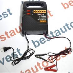 Incarcator acumulator auto Breckner 6V/12V 2-8A redresor cu led de incarcare a bateriei - Redresor Auto