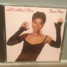 JOYCE SIMS - ALL ABOUT LOVE (1989/WARNER REC/GERMANY) - CD NOU/Sigilat/Original - Muzica R&B