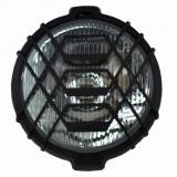 Proiector auto Wesem 12/24V bec H3, 160 mm cu grilaj si suport de fixare , cu lumina de ceata , 1 buc.