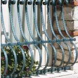 Mobila - Grilaj de fereastra din fier forjat MODEL 2