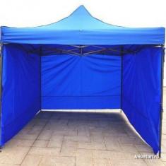 Mobilier camping - Cort 3x3 Ibiza armonica pavilion cu sau fara pereti laterali, NOU