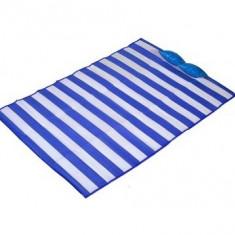 Rogojina pentru plaja cu perna gonflabila