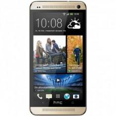 Telefon mobil HTC One, Auriu, 32GB, Neblocat, Single SIM - HTC One M7 32 GB Gold Nou, Necodat, pachet complet