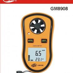 Aparat de masura - Aparat Digital Anemometru si Termometru, Dispozitiv masurarea vitezei vantului