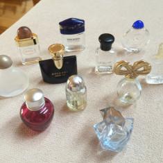 Sticla de parfum - LOT sticlute de parfum goale, rare, de colectie (100 bucati) !!!