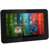 Tableta Second Hand Prestigio MultiPad PMP5570C Dual Core Android 7.0inch 8GB Webcam Card slot micro SD USB 2.0 Mini HDMI WiFi + Husa piele