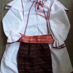 COSTUM POPULAR PENTRU FETITE 0-6 LUNI - Costum populare, 30, Alb