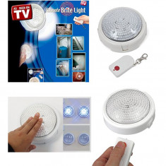 Bec / LED - Bec cu telecomanda Remote Brite Light