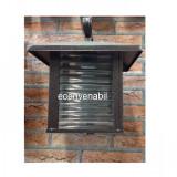 Iluminat exterior - Felinar de Gradina Antichizat 8018WGD