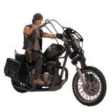 Figurina Walking Dead Tv Daryl Dixon With Chopper Action Figure Box Set