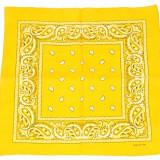 Bandana floral - galben