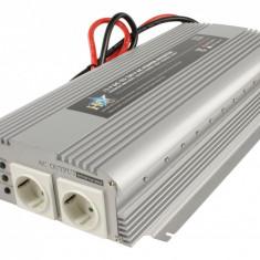Invertor de tensiune 12V-230V, 1700W, iesire USB 5V, HQ - vit_HQ-INV1700/12 - Invertor Auto