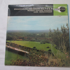 Johann Sebastian Bach - Brandenburg Concertos Nos 1, 3 & 6 _ vinyl, LP, UK - Muzica Clasica decca classics, VINIL