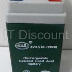 Acumulator cantar electronic 4V 4.5A - Cantar/Balanta