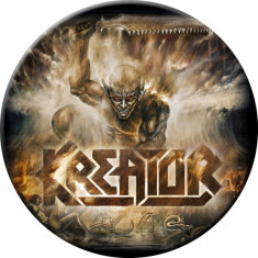 Insigna Kreator - Phantom Antichrist - Insigna fotbal