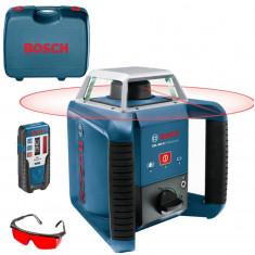 Nivela optica - BOSCH GRL 400 H SET Professional Nivela laser rotativa 0601061800