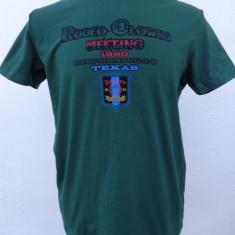Tricou SHONL by Dsquared2 - Tricou barbati Dsquared, Marime: M/L, Culoare: Verde, Maneca scurta